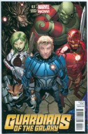 Guardians Of The Galaxy #0.1 Steve McNiven Retail Variant 1:50 (2013) Movie Marvel comic book